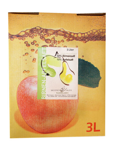 Apfel - Birnensaft 3l Bag in Box