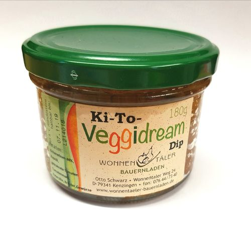 Veggidream Ki-to-Dip 180g